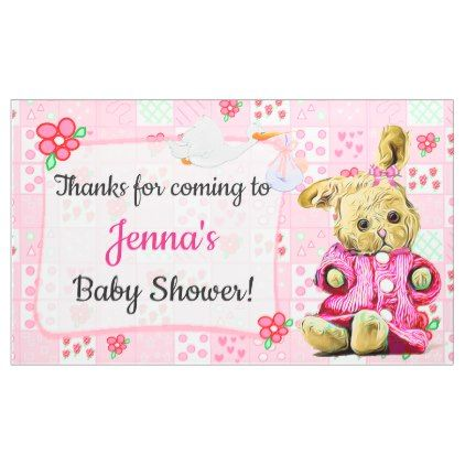 Thanks For Coming Baby Shower Banner Shower Banners