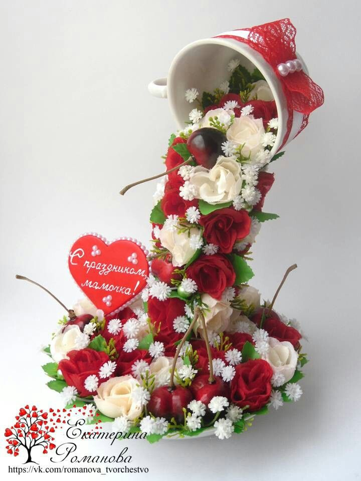 Holiday Centerpiece Teacup Ride : Красное и белое floating cups pinterest tea cup