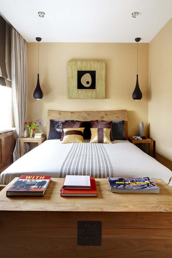 Cheap Master Bedroom Ideas Entrancing I Dig The Inspiration Here Of The Few Lines Down The Middle Of A Design Ideas