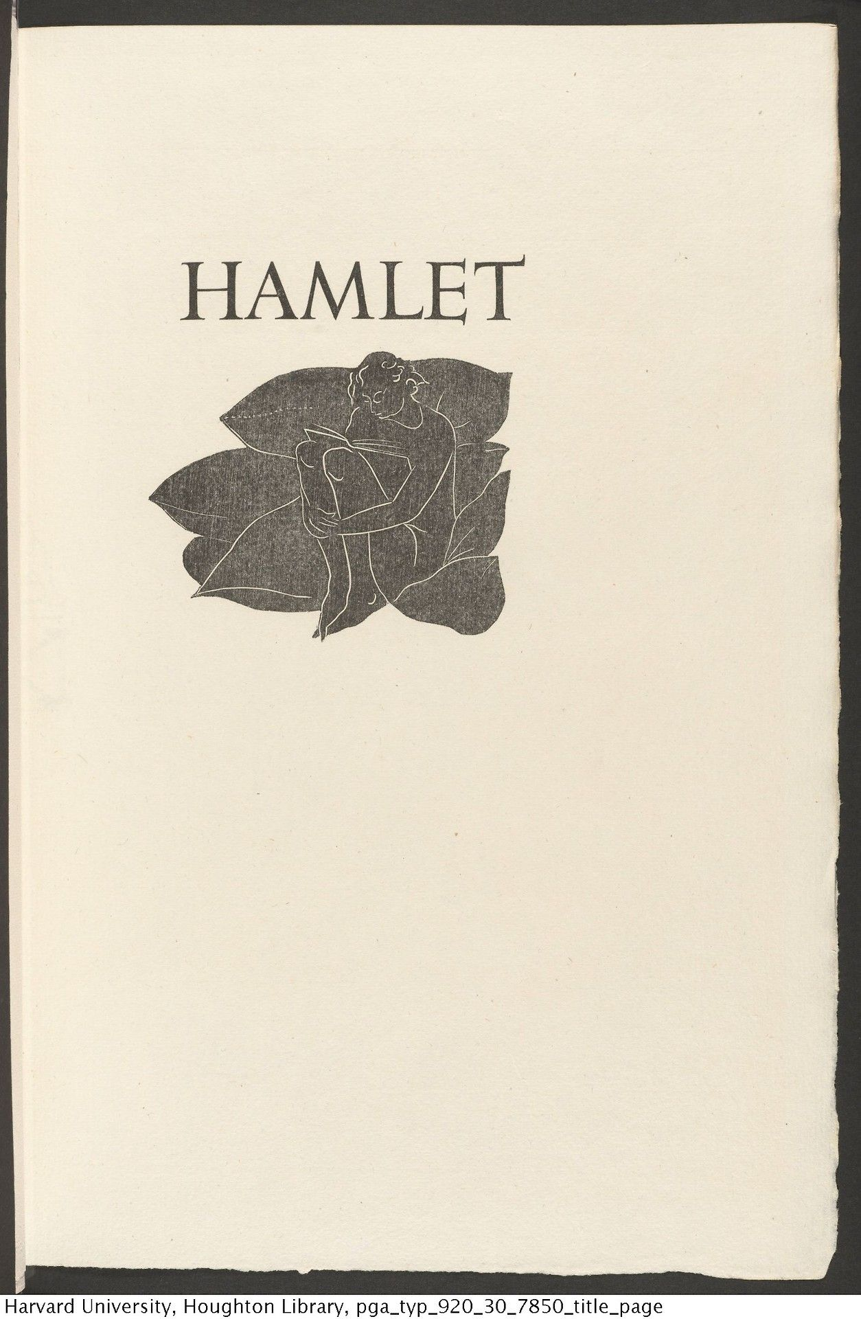 Shakespeare william 1564 1616 the tragedie of hamlet prince of shakespeare william 1564 1616 the tragedie of hamlet prince of denmarke illustrated by edward gordon craig weimar cranach press 1930 fandeluxe Image collections