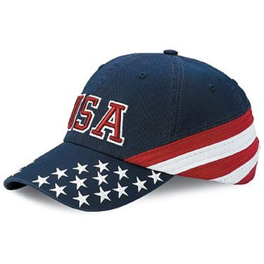 f45bb996a92 Twill Hat with USA Embroidery. Twill Hat with USA Embroidery Baseball Hats  ...