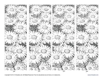 Free Printable Bookmarks for Kids - Coloring the Spring Season ...