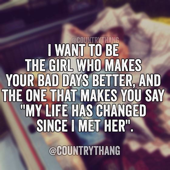 i need a girl in my life