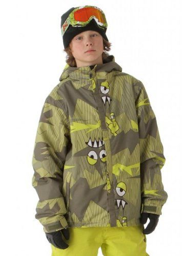 6205d1b8f 686 Big Boys Camotooth Insulated Jacket (Army) -- L (14/16) | Boys ...