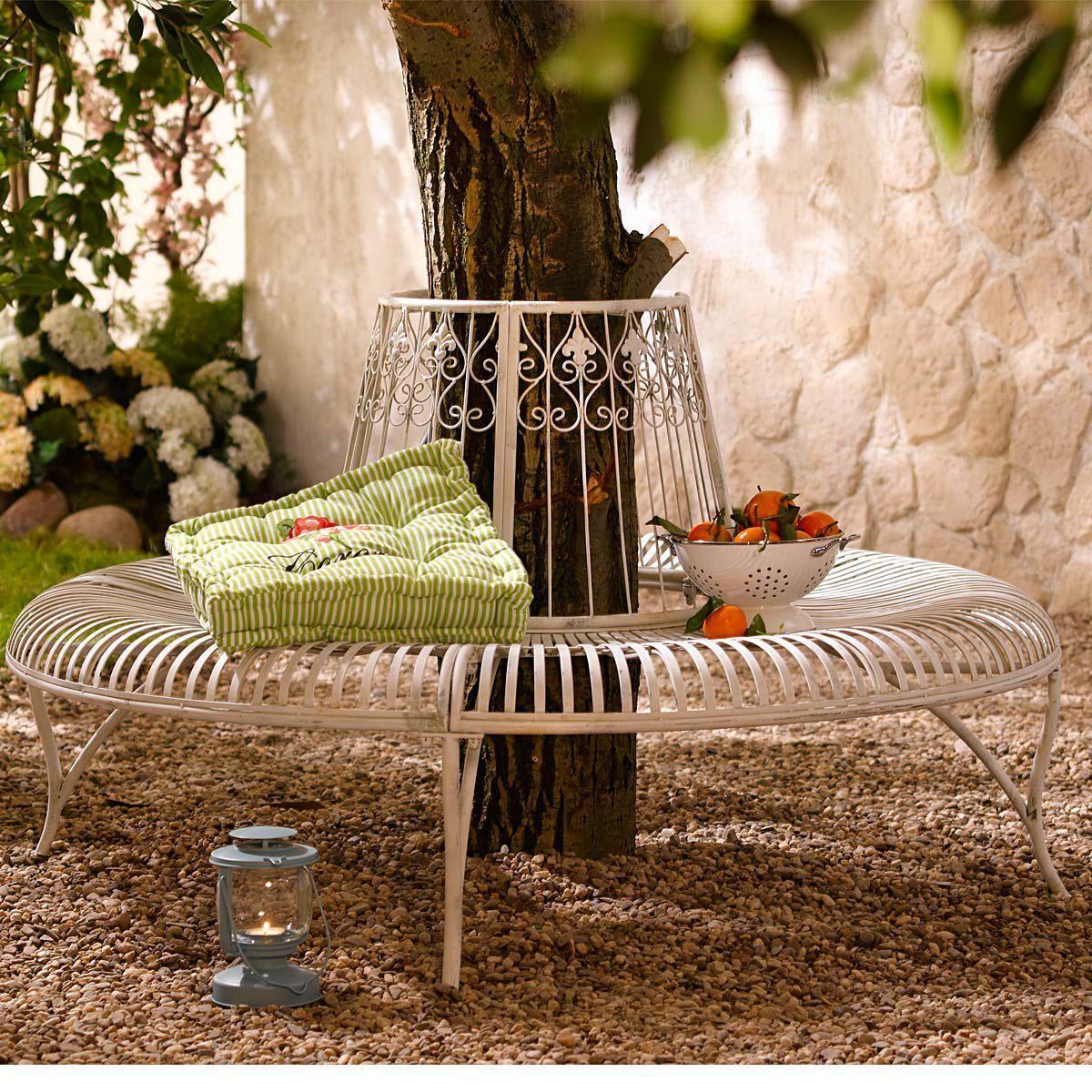 Gartenbank Rund Metall sch0001-1858184-957 10 | Garten | Pinterest ...