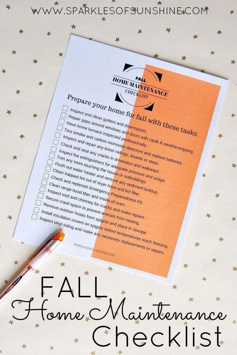 Photo of Checkliste für die Wartung des Herbsthauses – Sonnenschein
