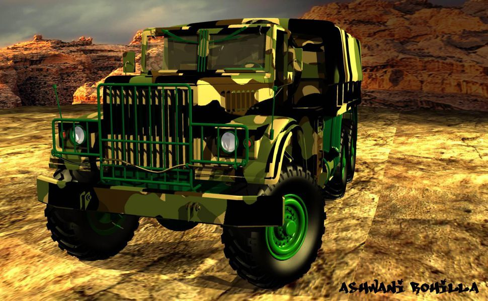 Indian Army Trucks Hd Wallpaper With Images Army Wallpaper