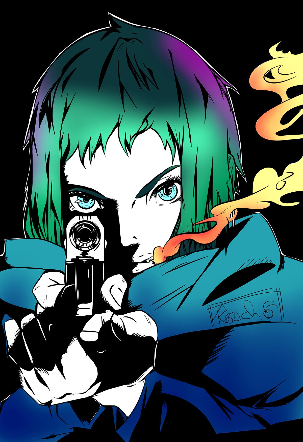 Major Gits Arise Ghost In The Shell Character Art Cyberpunk Art