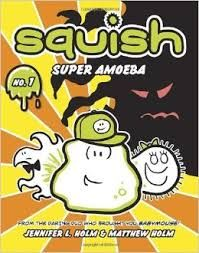 Readers will learn a bit about single celled organisms while they are getting to know these adorable characters.   The theme of friendship is brought out in the series as these characters learn how to support each other.   This is another graphic novel series that is laugh-out loud funny and filled with layers of meaning.