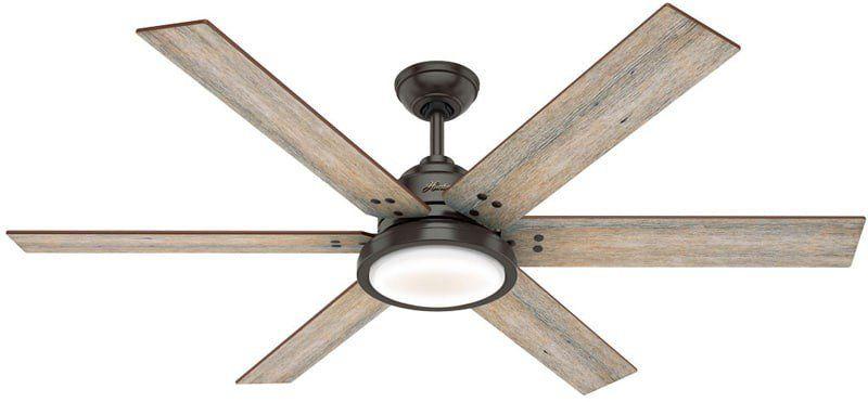 Hunter 59397 Warrant 70 Inch Noble Bronze Ceiling Fan With Light Rustic Ceiling Fan Ceiling Fan With Light Ceiling Fan 70 inch ceiling fan with light