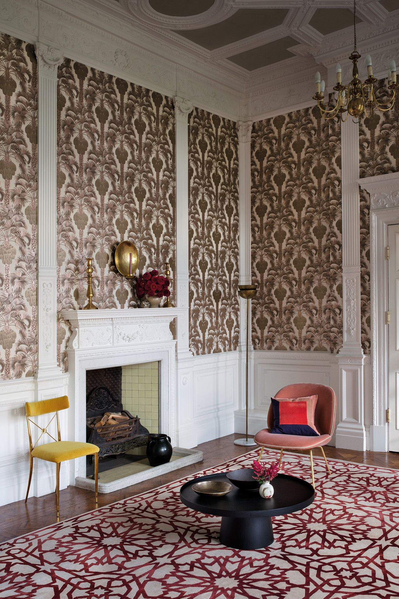 Hollywood Palm Wallpaper  Martyn Lawrence Bullard Collaborates With Cole