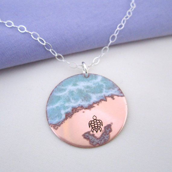 For A Limited Time Almost There Sea Turtle Necklace In