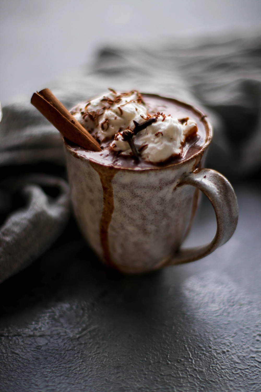 Single Post Vegan Hot Chocolate Sweet And Spicy Frozen Yogurt Breakfast Bars