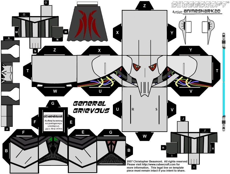 photo relating to Star Wars Printable Crafts titled all the Star Wars figures - printable!! Paper Toys