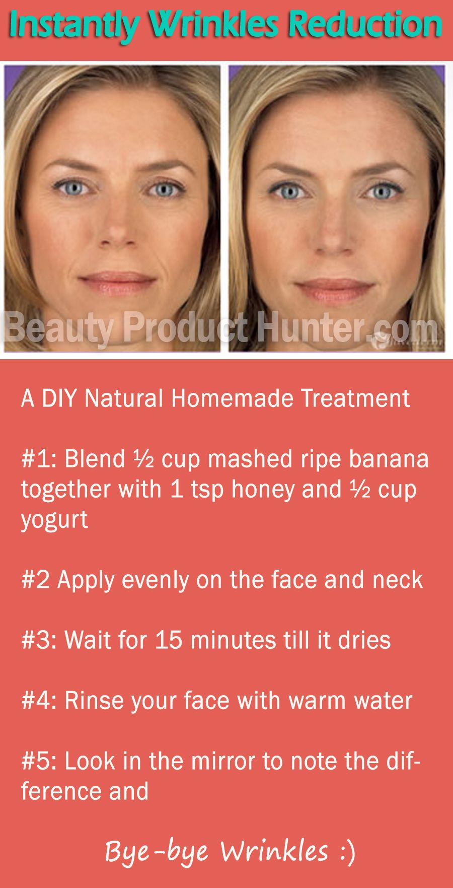 How To Instantly Lift Wrinkles With Natural Beauty Ingredients At