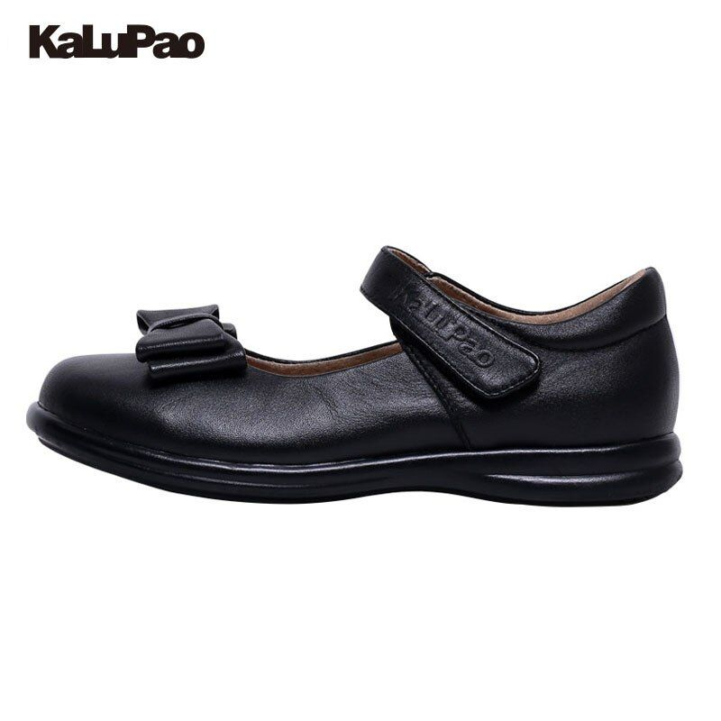 KALUPAO Children School Uniform Shoes