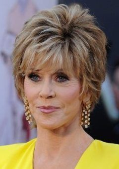 Hairstyles And Haircuts For Older Women In 2020 Short Hair Styles Older Women Hairstyles Jane Fonda Hairstyles