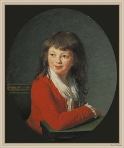 Boy in Red, 1786 by Élisabeth Vigée-Lebrun