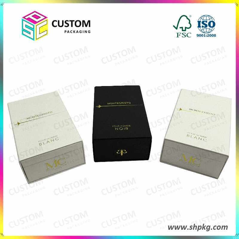 Rigid Cardboard Gift Boxes Single Custom Packaging Product Gift