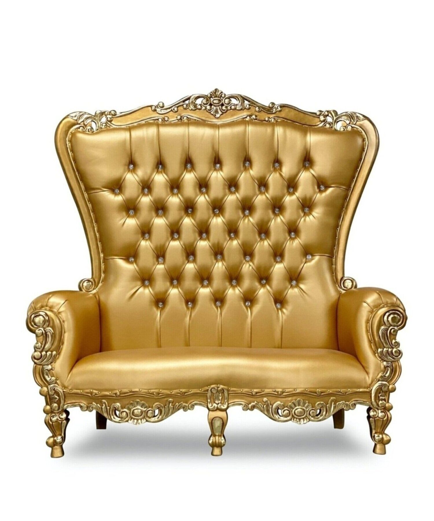 70 Og Throne Settee In 2020 High Back Chairs Throne Chair