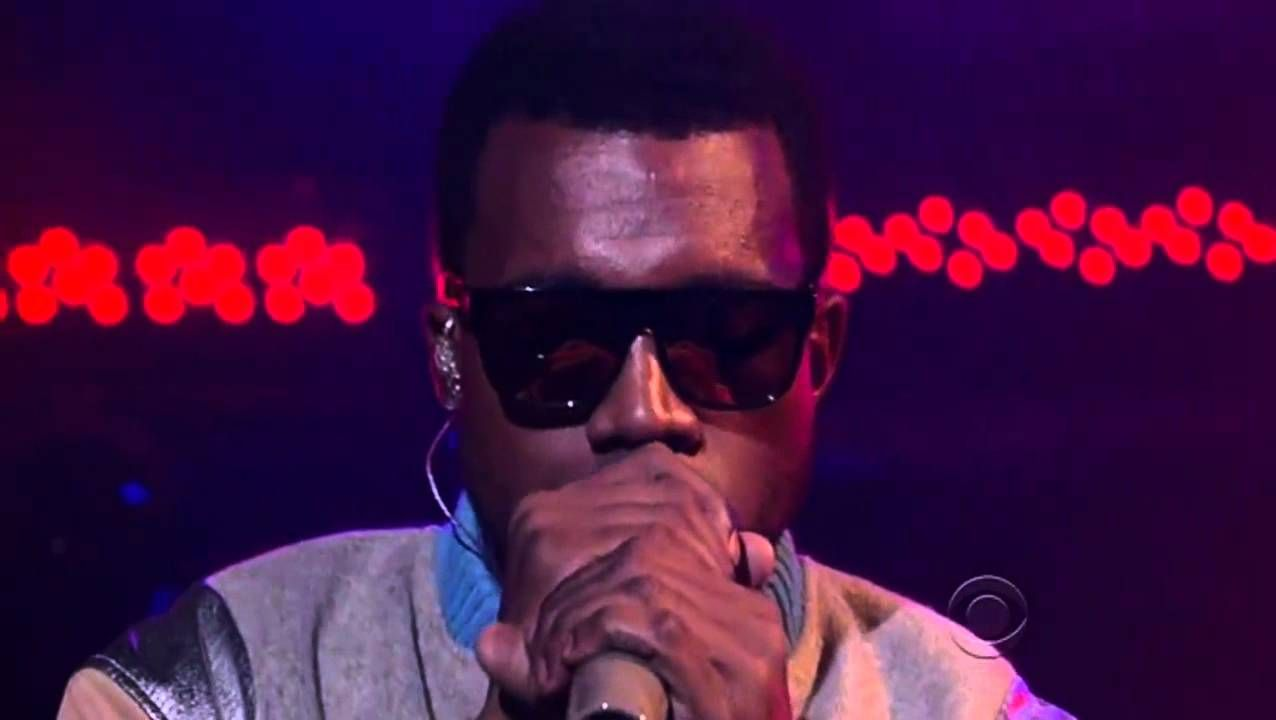 Kanye West Love Lockdown Live On David Letterman Hd With Images Mens Sunglasses Kanye West Sunglasses