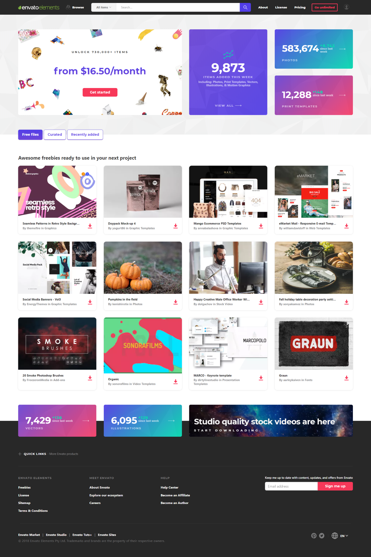 Envato Elements Is Must Have For Every Web Designer Or Developer Unlimited Collection Of Cms Templates Themes Ph Web Design Templates Web Design Inspiration