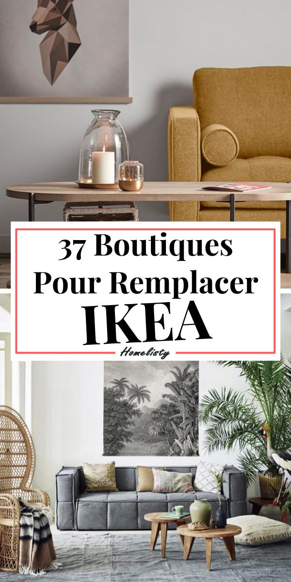 37 Alternatives & Concurrents à IKEA (Déco & Mobilier