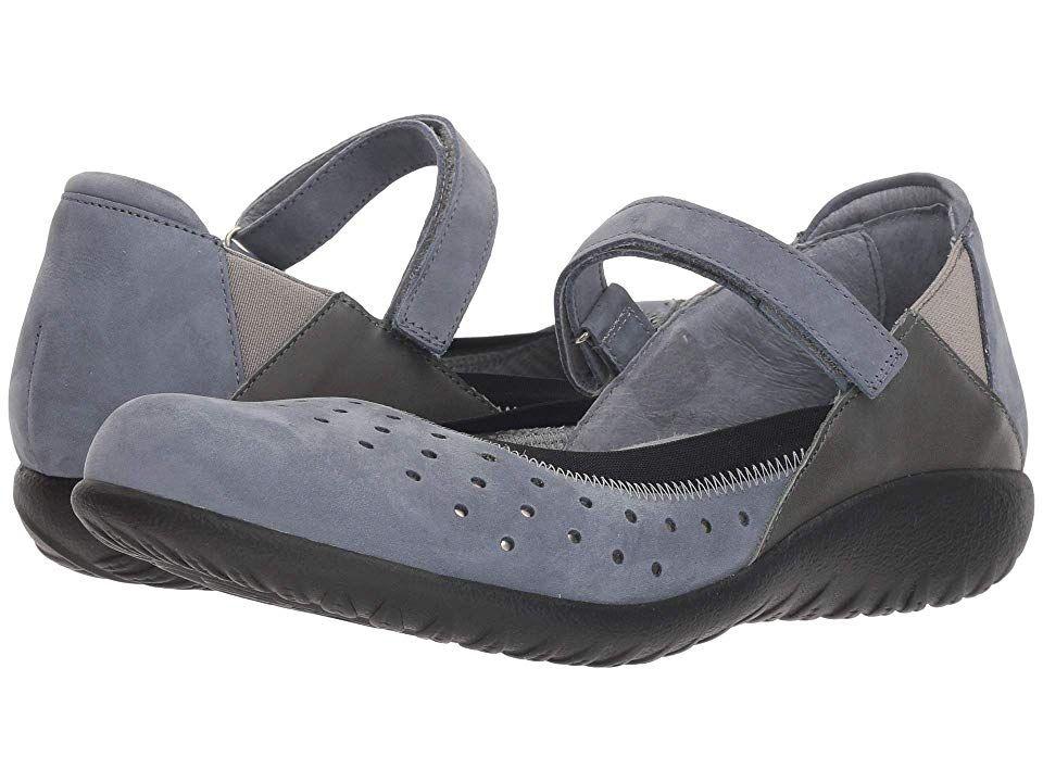 Naot Matua Women's Shoes Feathery Blue Nubuck Combo in ...