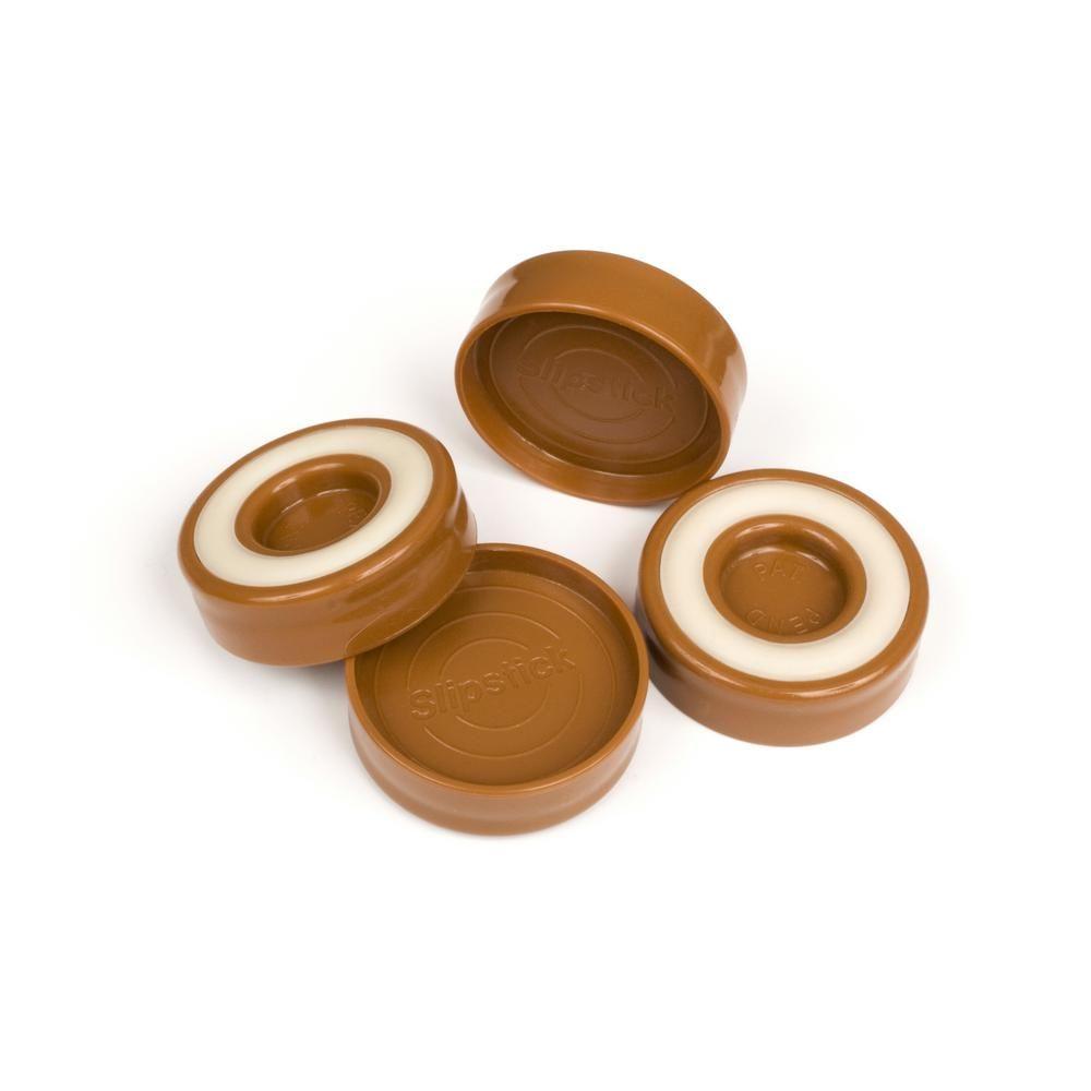 Caramel Brown Furniture Caster Cups