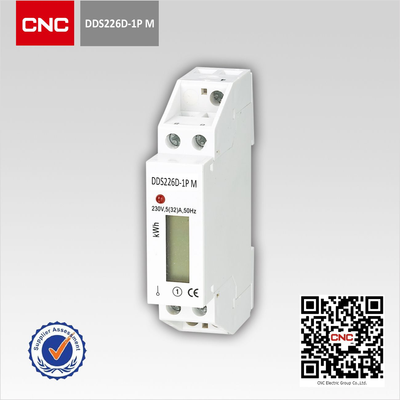 DDS2226D-1P M Single-phase Din-rail Multifunction Smart Meter (one ...