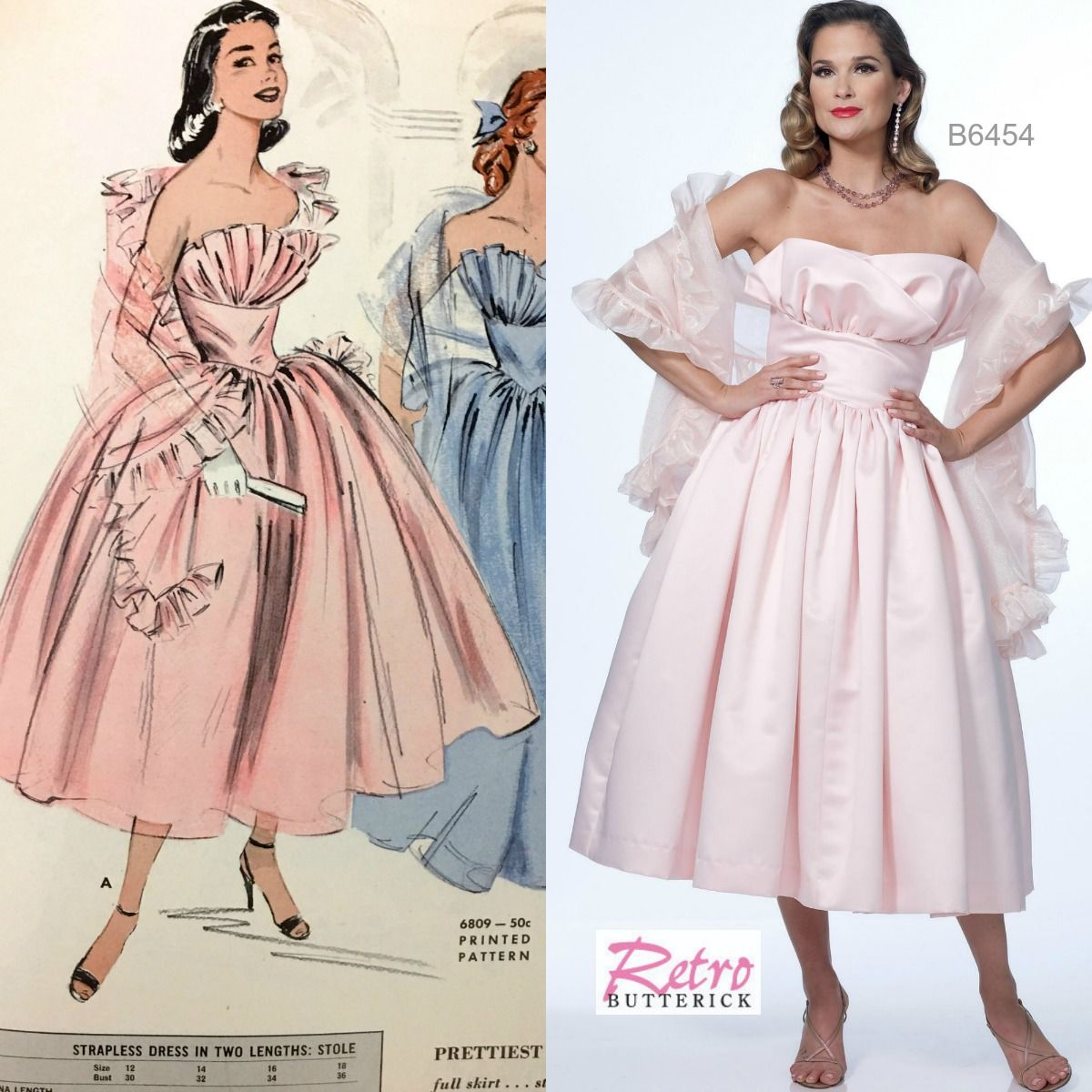 Prom Dress Sewing Patterns Magnificent Inspiration