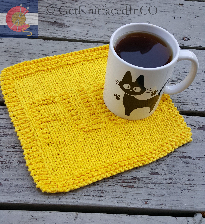F*ck Dish Cloth Knit Pattern - Instant PDF Digital ...