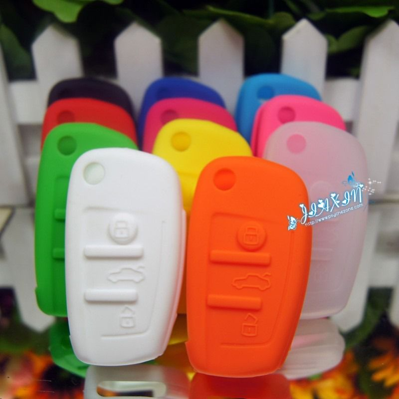 cool silicone remote key case for Audi,more cute silicone gift,pls visit psychezone.com