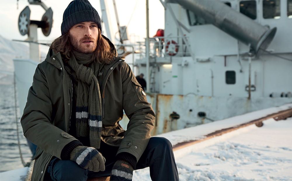 Calin Sitar Sports Rugged Styles for LUHTA Fall/Winter 2015 Campaign