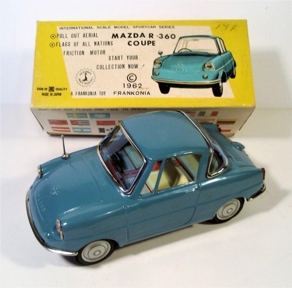 MIB TIN FRICTION MAZDA R360 CAR ORIGINAL BOX INSERT BANDAI FRANKONIA