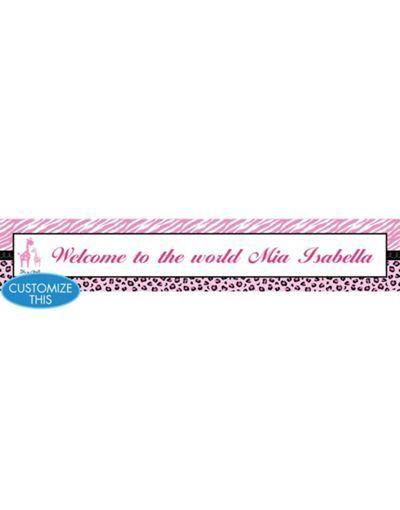 For baby Sophia Baby Shower Ideas Pinterest Banners, Custom - pennant banner template