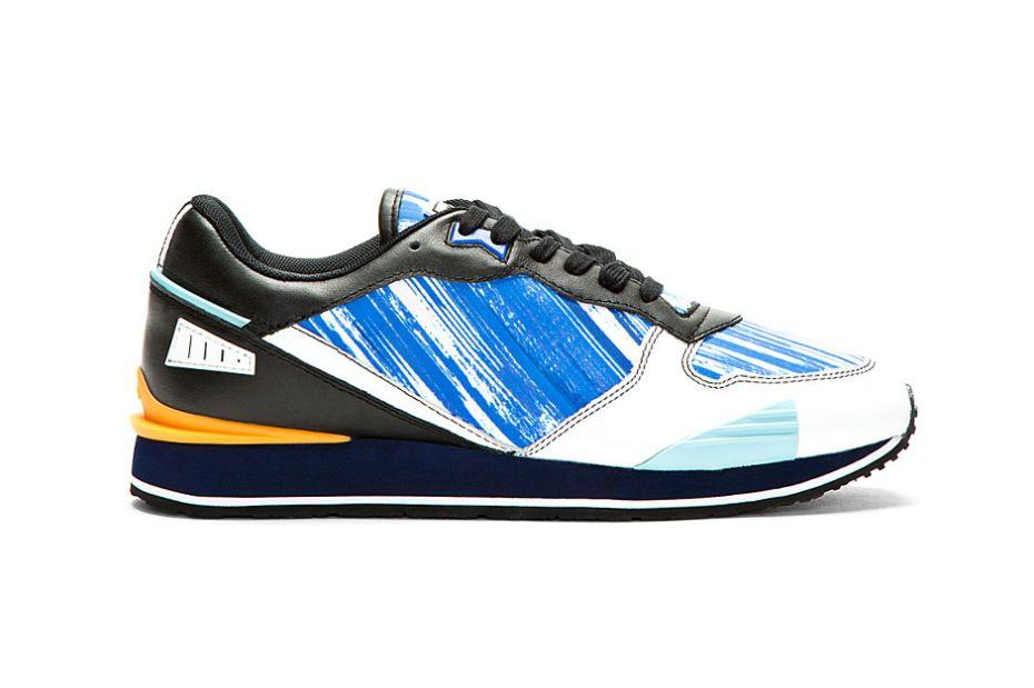 KENZO Blue High Wave Canvas Low Top (Hypebeast)  edd66df24