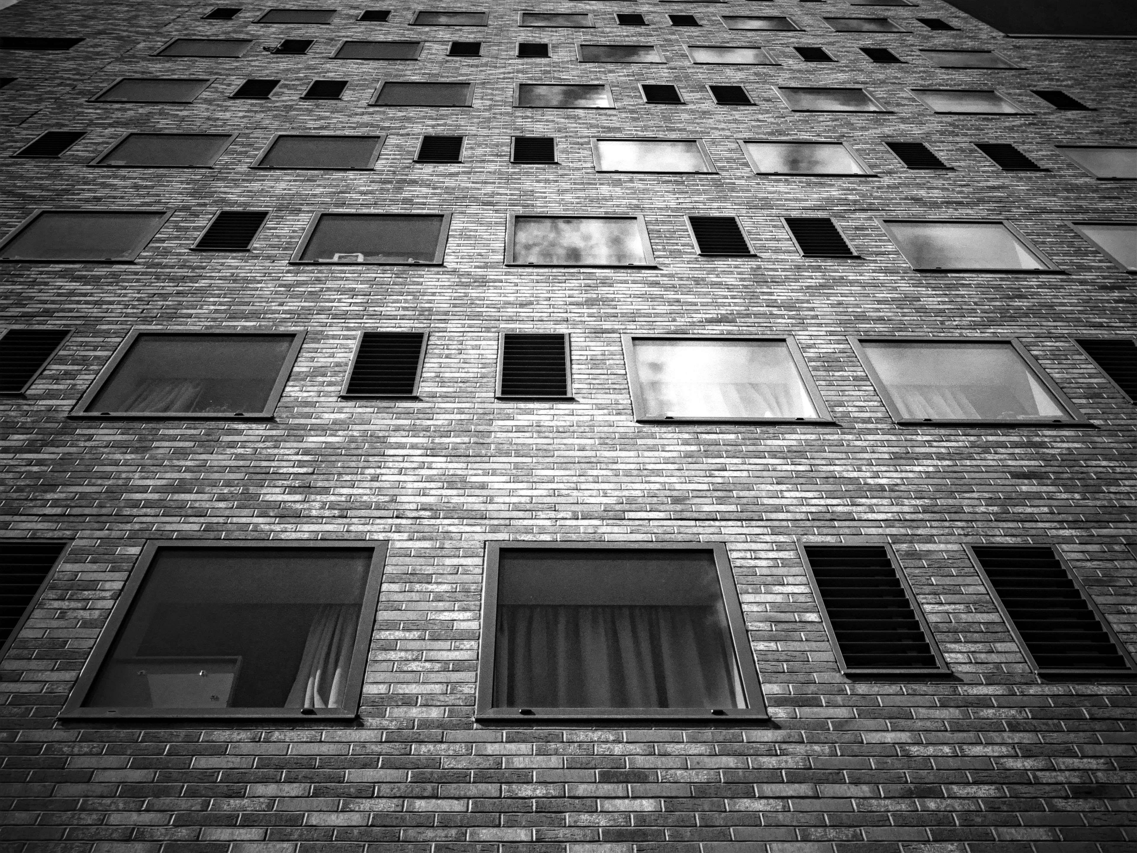 Обои wall, architecture, blаck, White, and. Архитектура foto 6
