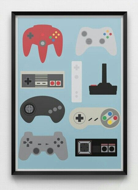 17 Cool Retro Video Game Inspired Stuff Retro Video Games Game Room Decor Game Room