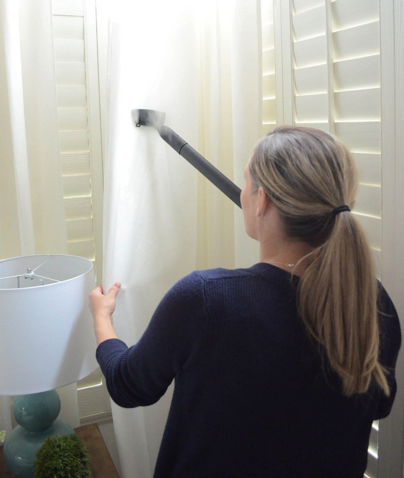Spring Cleaning Your Curtains With A Steammachine Steam Cleaner