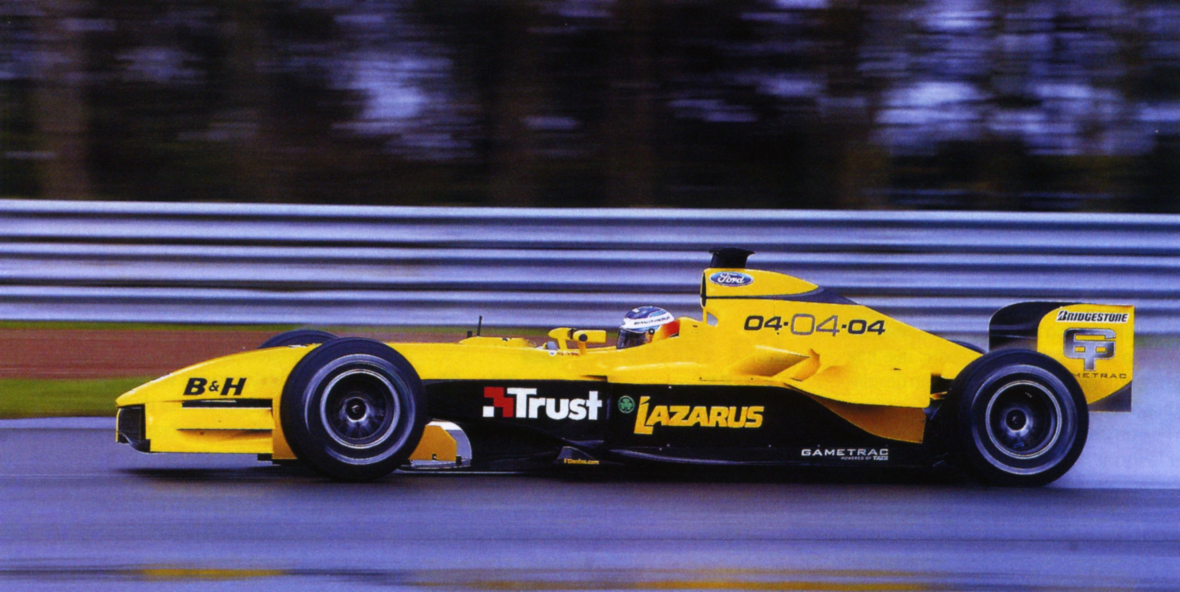 2004 Nick Heidfeld Jordan-Ford EJ 14