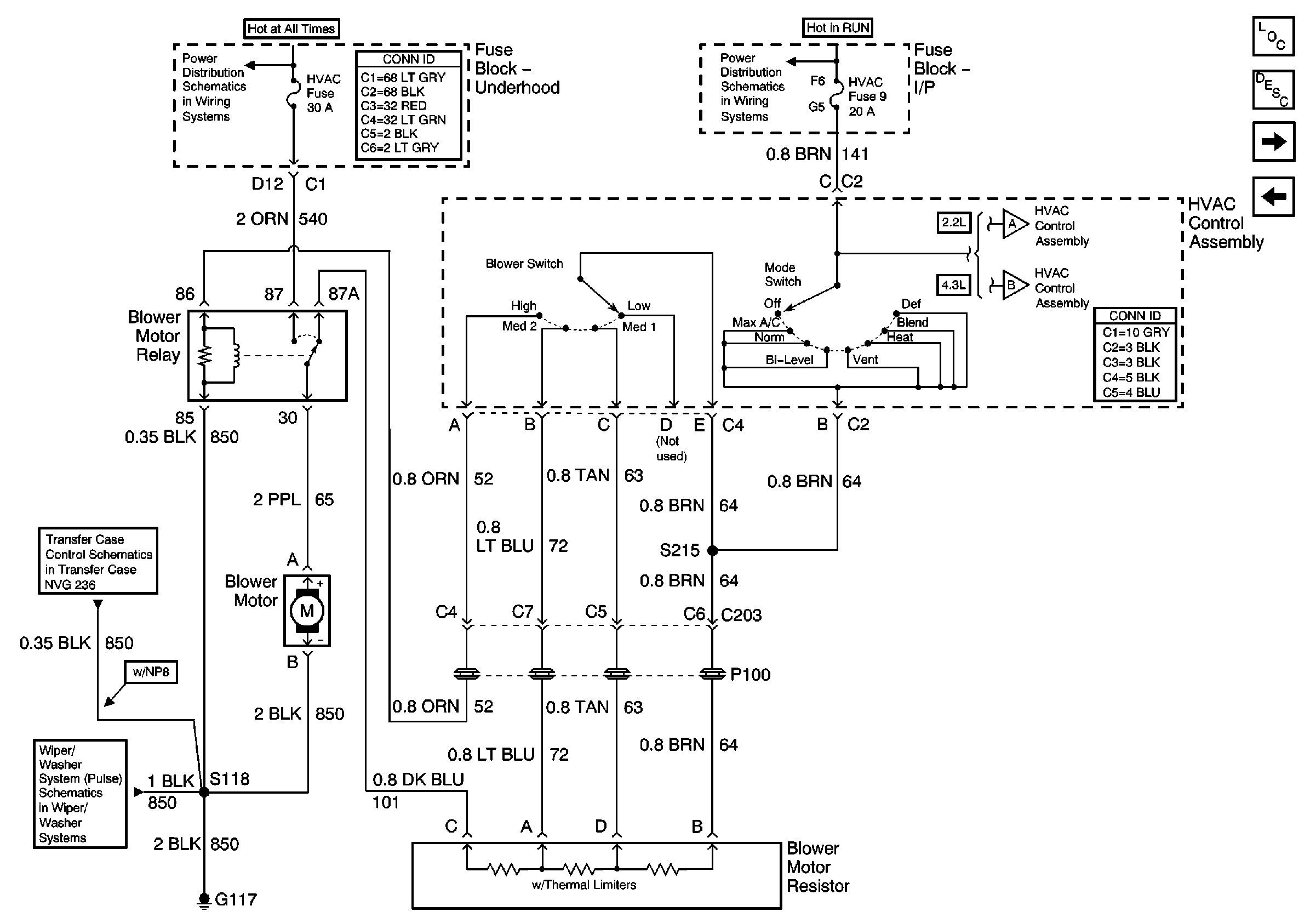 94 S10 Blower Motor Wiring Diagram Residential Electrical