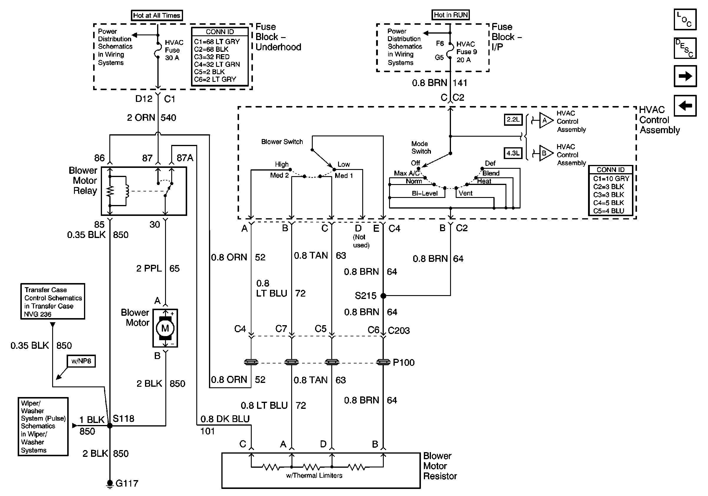 94 S10 Blower Motor Wiring Diagram Residential Electrical