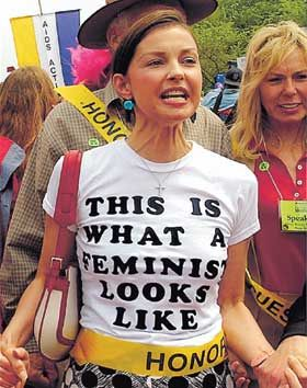 Image result for ashley judd, feminist