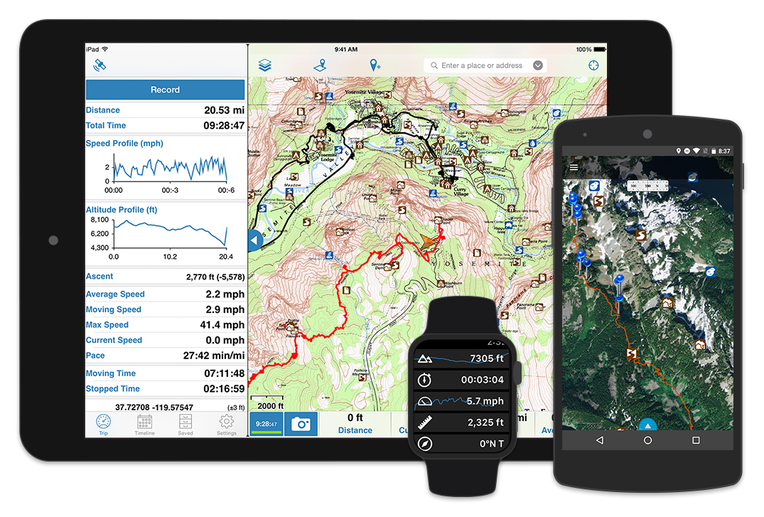 Gaia GPS | Topo Maps and Hiking Trails App for iPhone, iPad