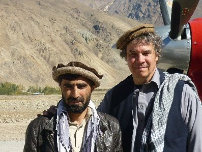 Central Asia InstituteCentral Asia Institute Communique' - Atiq Allah and Greg Mortenson in Badakhshan province, 2013. Photo courtesy of Greg Mortenson.