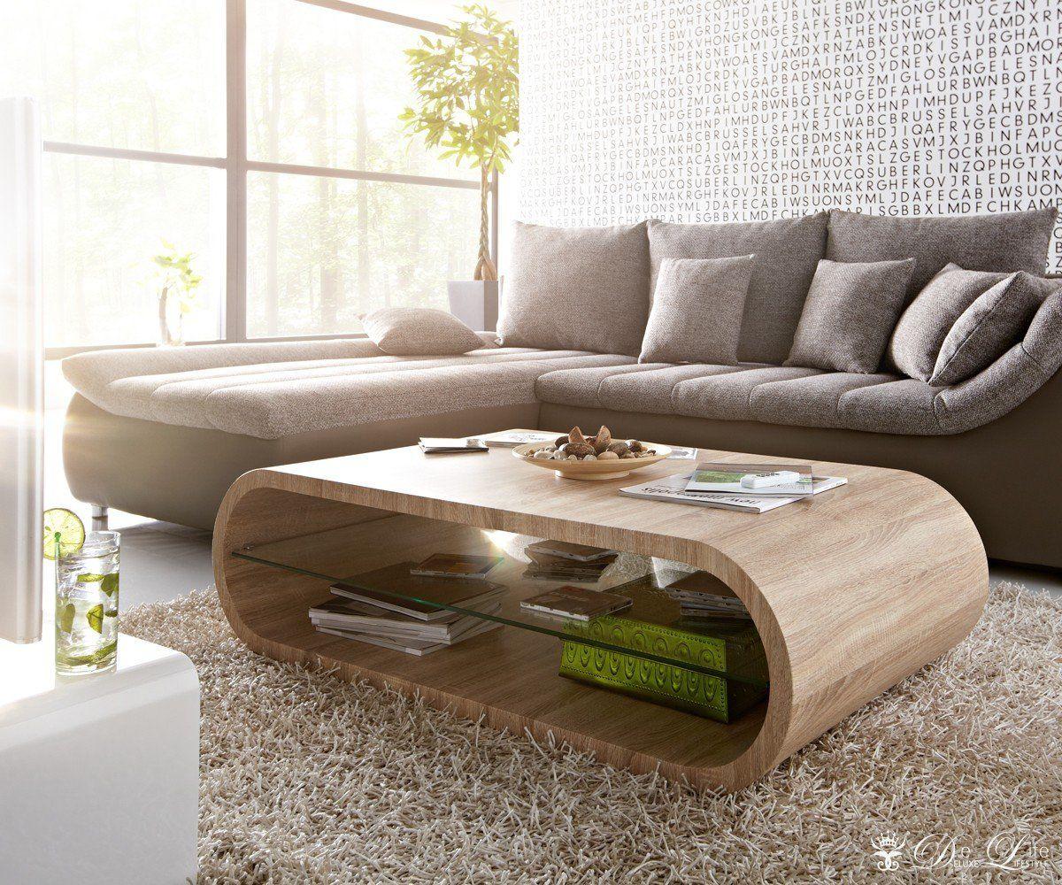 couchtisch zoey 130x75cm eiche sonoma dekor wohnzimmertisch cube k che haushalt. Black Bedroom Furniture Sets. Home Design Ideas