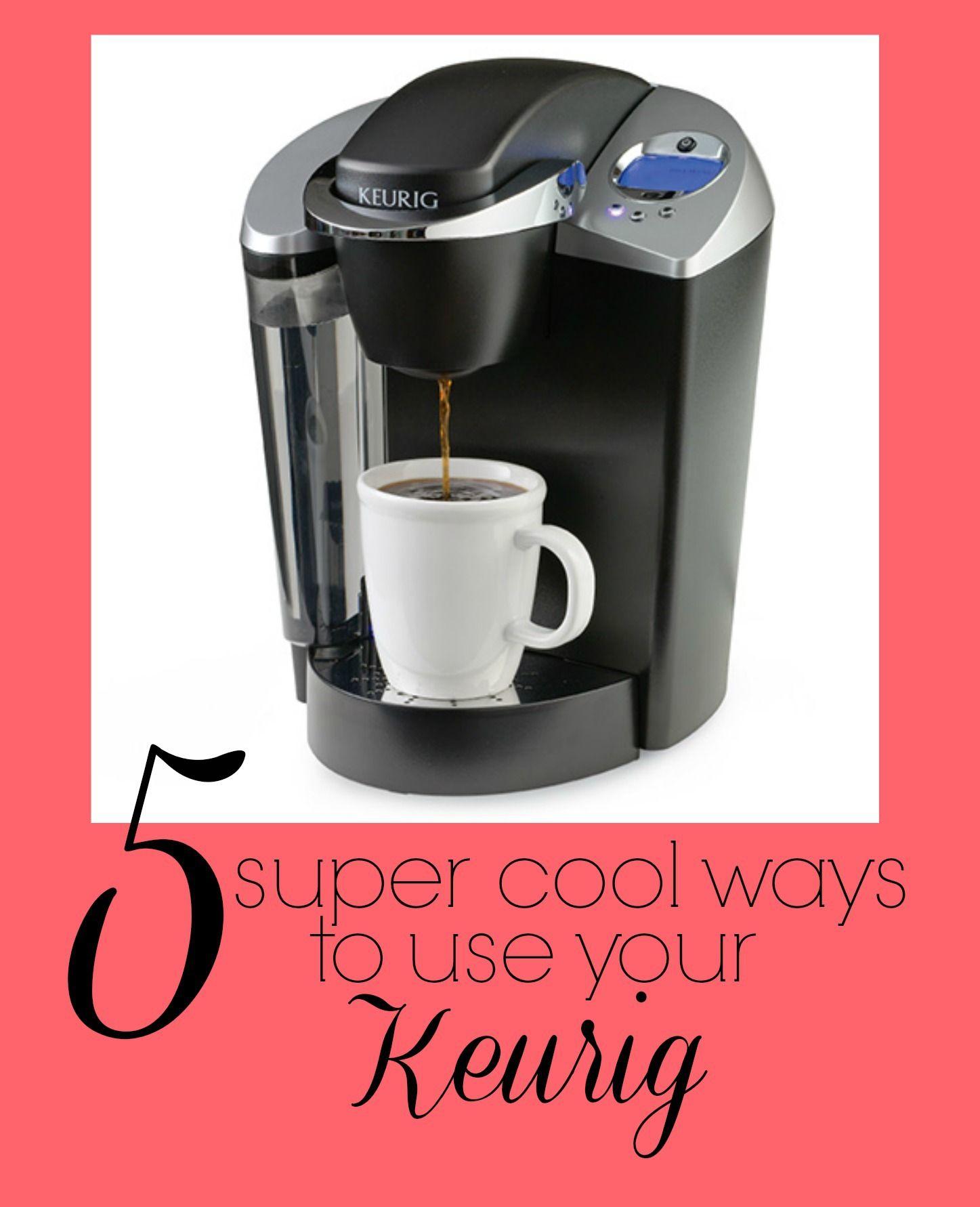Keurig Coffee Maker Cleaning Tips : Five Ways to Use a Keurig Keurig, Coffee and College