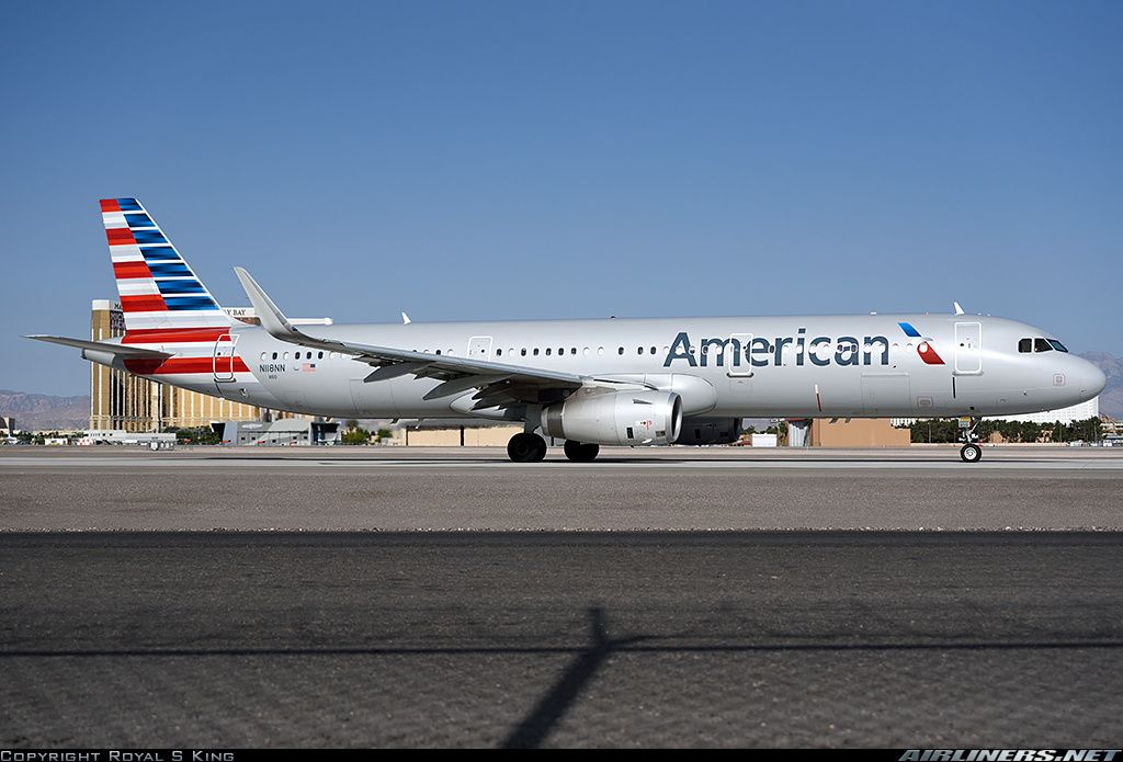 American Airlines Airbus A321-231 N118NN (cn 6162) A321 with
