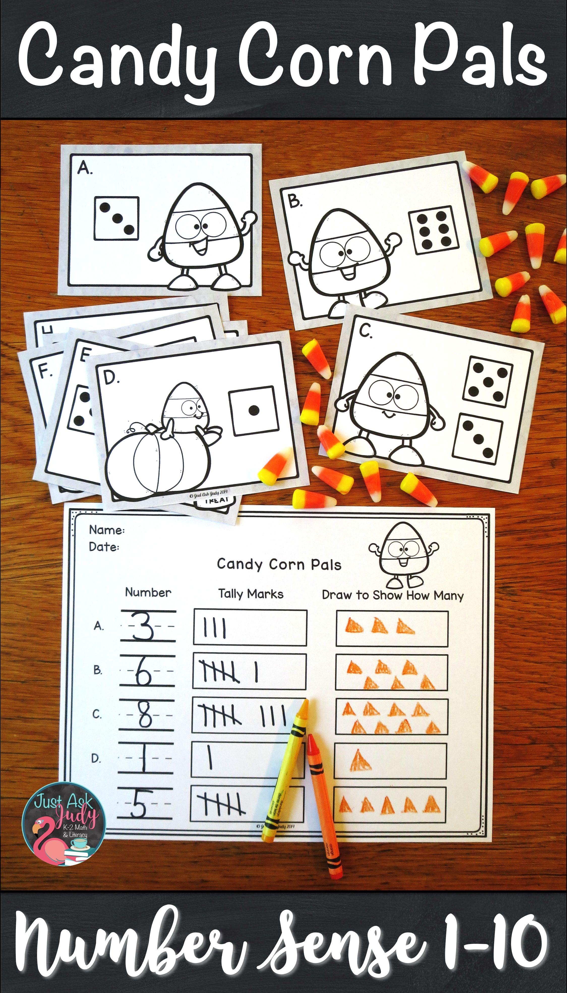 Number Sense Activity 1 10 Candy Corn Pals